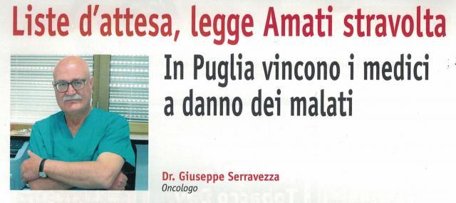 Liste d'attesa: in Puglia vincono i medici a danno dei malati